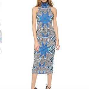 Mara Hoffman Ponte Turtleneck Dress